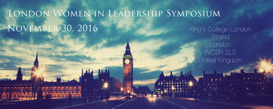 2016 London Women in Leadership Symposium